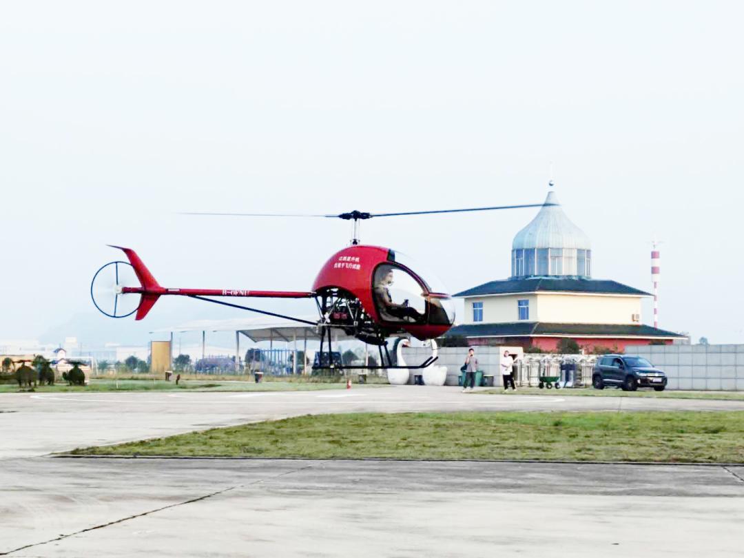 小朱雀直升机喜获生产许可证