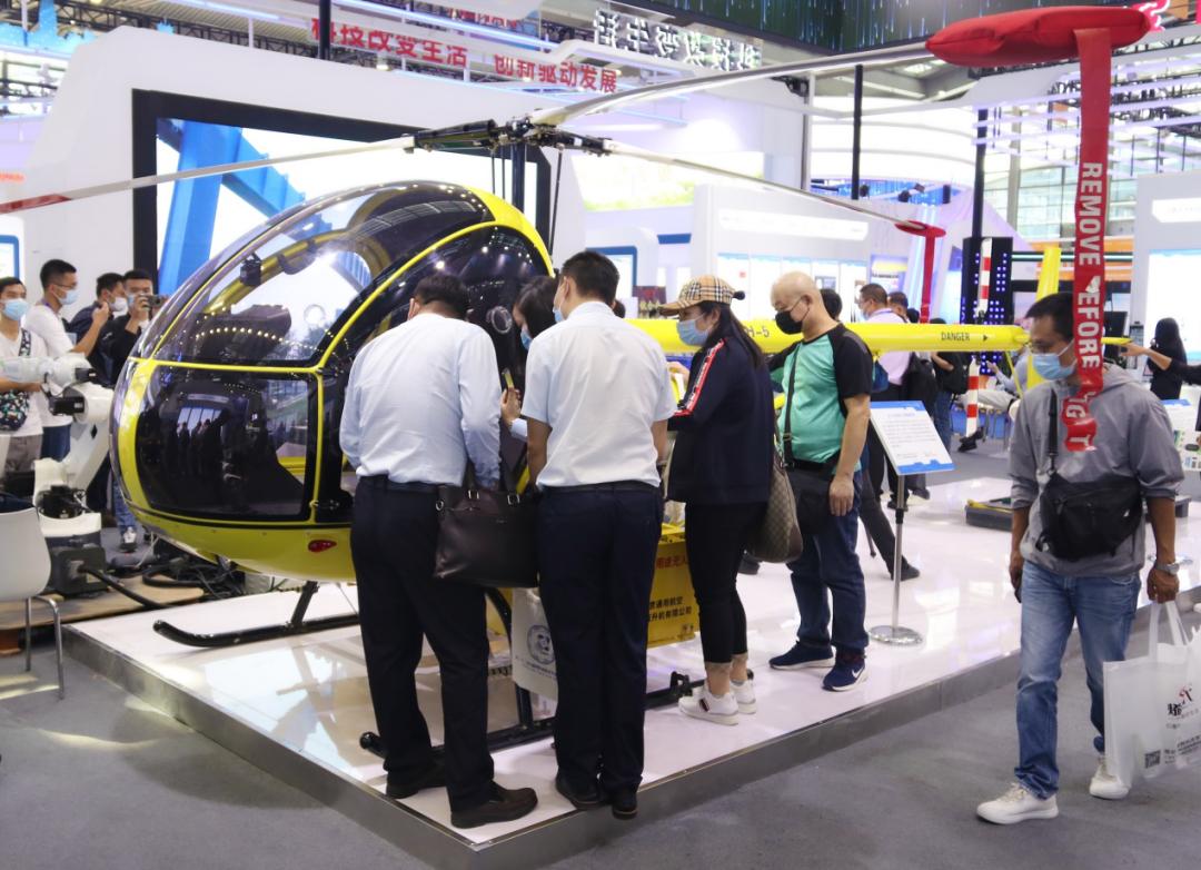 小白虎无人直升机获2020深圳高交会优秀产品奖